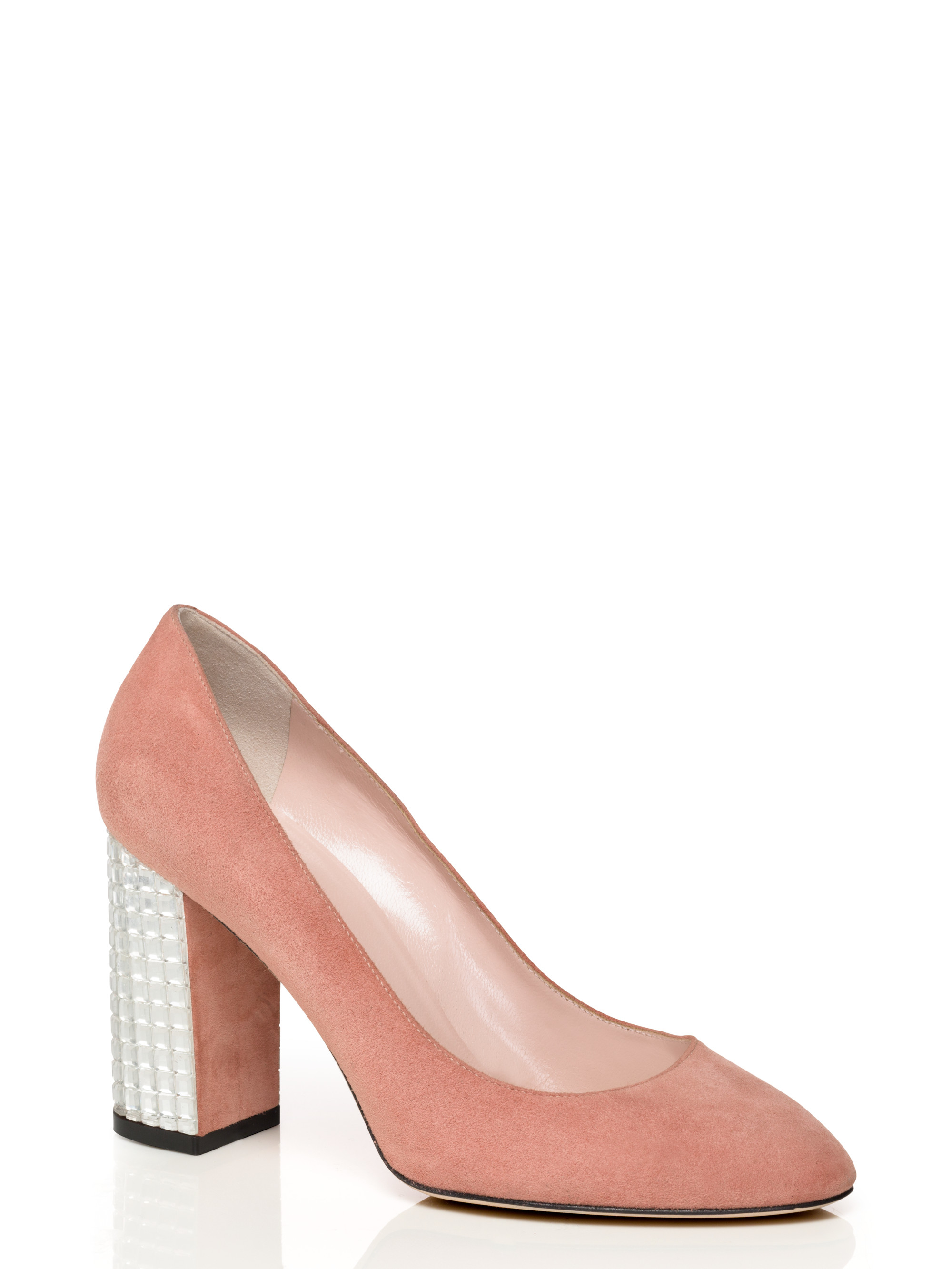 outlet high quality Kate Spade New York Suede Round-Toe Pumps for cheap free shipping eastbay discount 2014 new TJEQqz3UNE