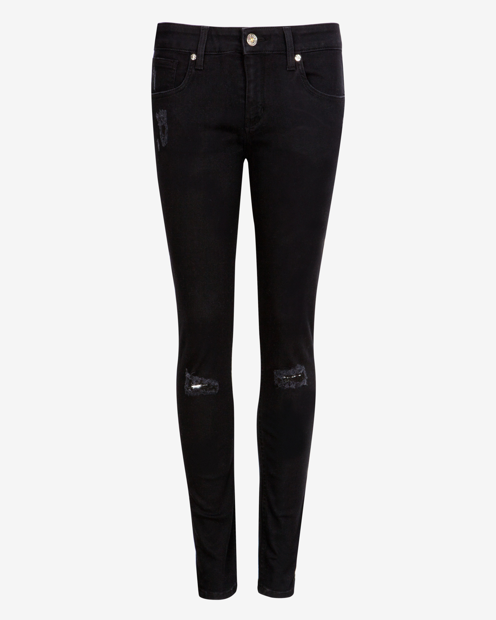 Distressed Black Skinny Jeans | Gommap Blog