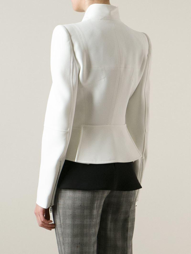 White Jean Jacket Women