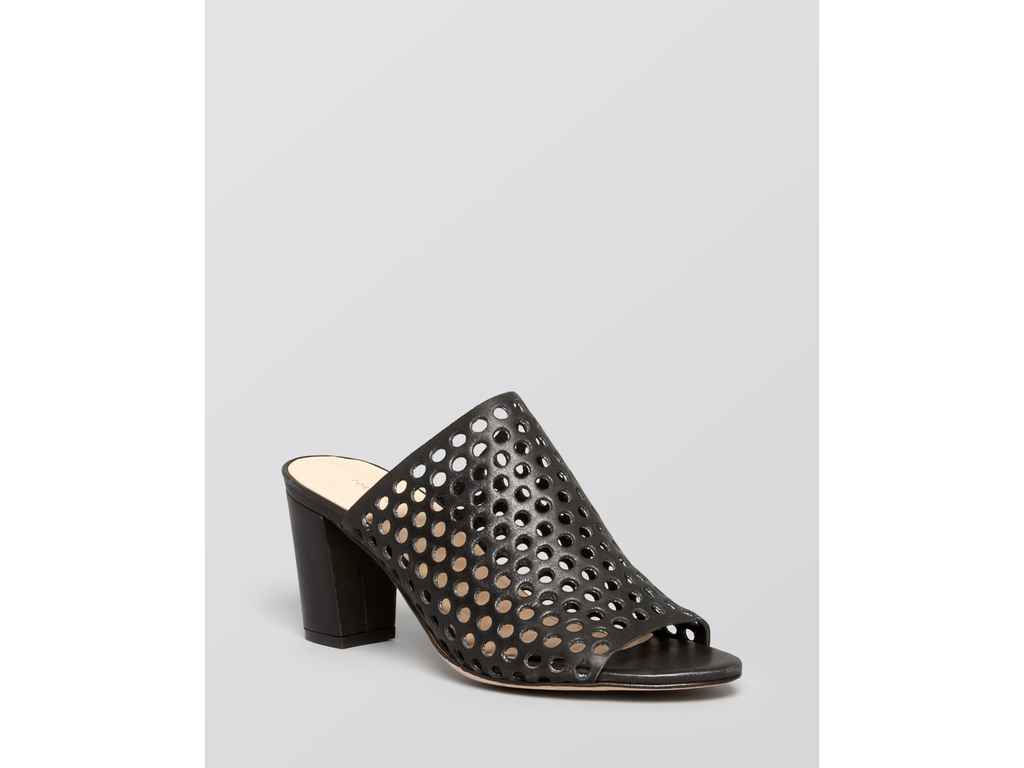 websites online clearance outlet Loeffler Randall Perforated Platform Sandals discount Manchester discount best prices Ph9PB