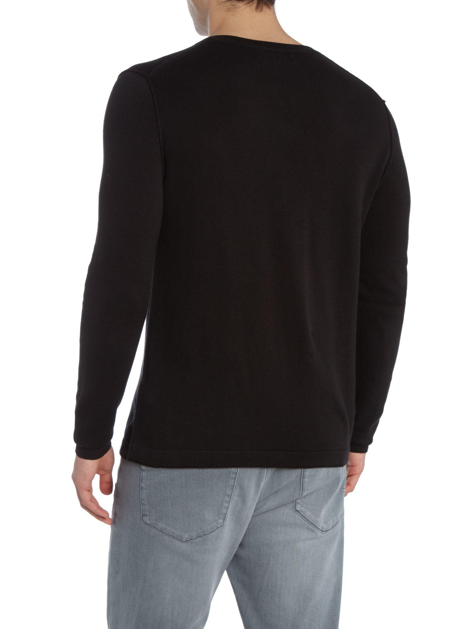 calvin klein codoc sweater in black for men lyst. Black Bedroom Furniture Sets. Home Design Ideas