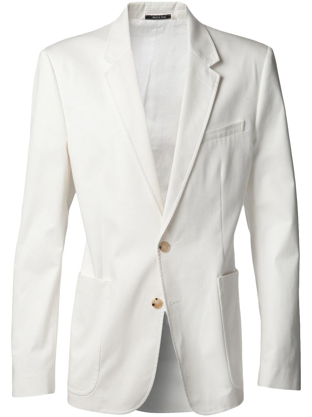 White Blazer Jacket | Fashion Ql