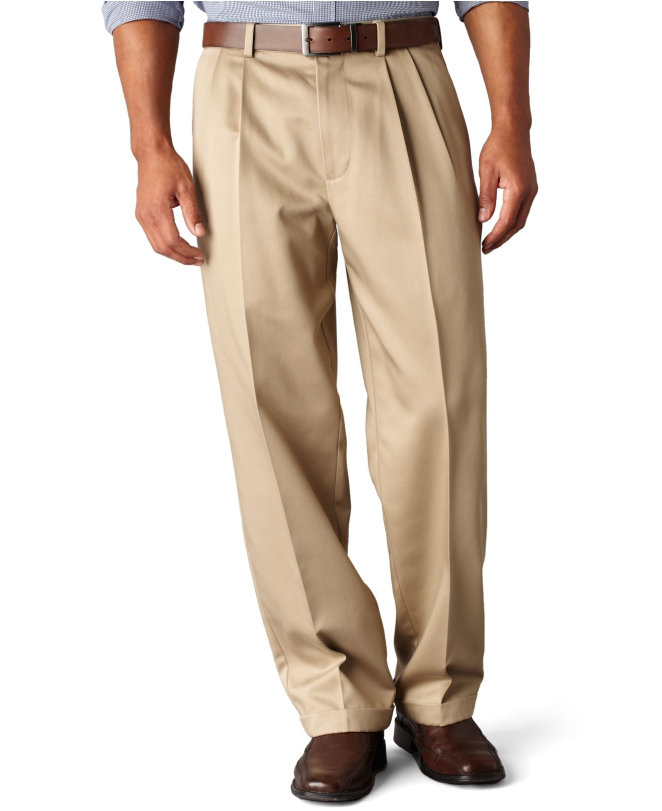 Iron Pleated Pants