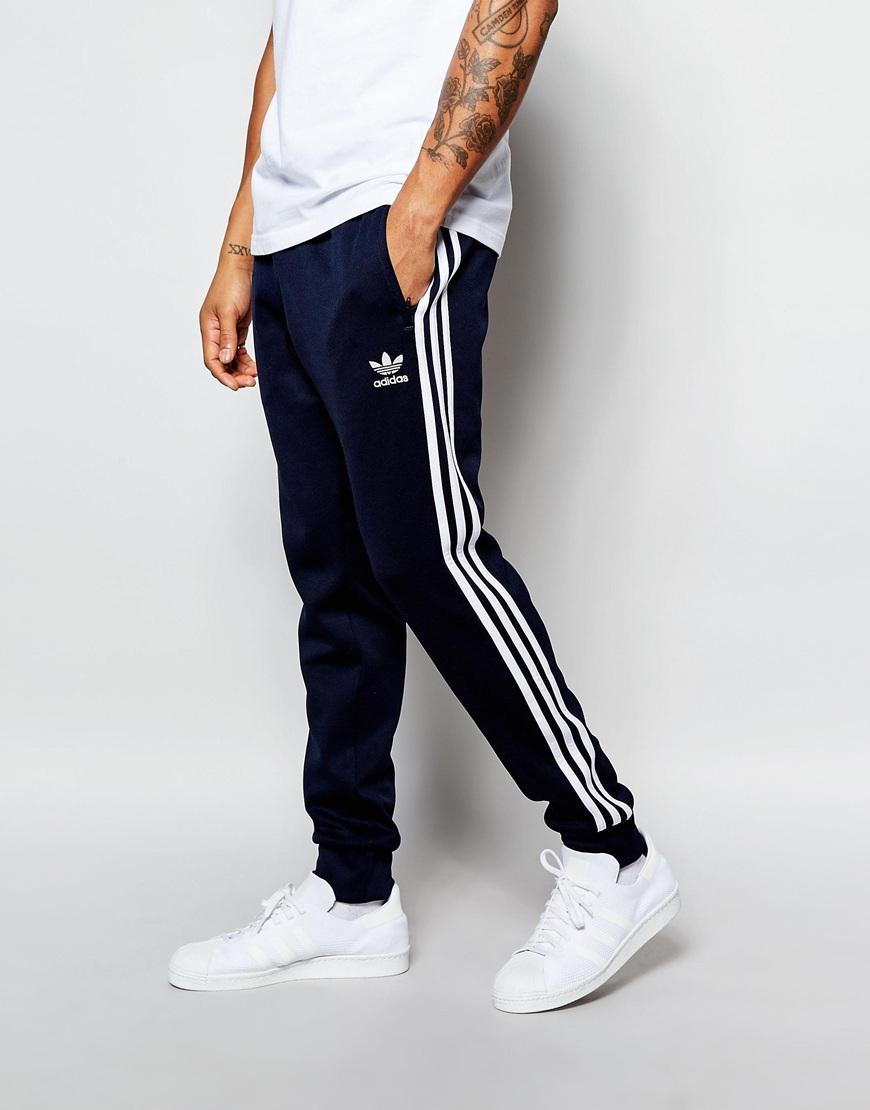adidas originals superstar cuffed track pants aj6961 in