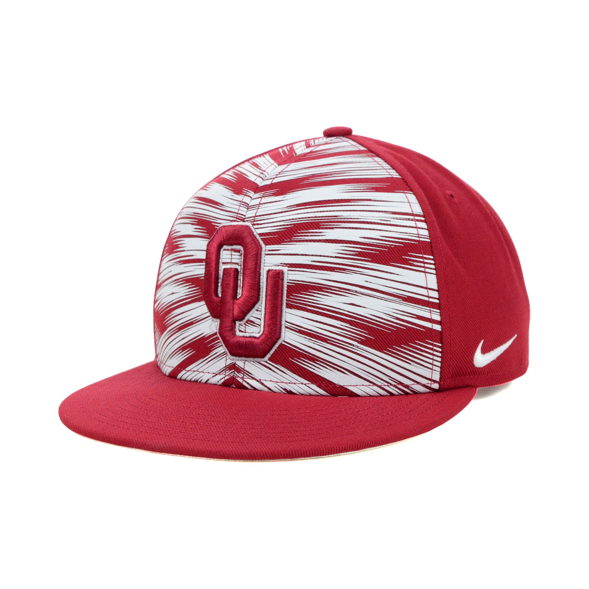 0c1aaaec0b9 ... canada lyst nike oklahoma sooners game day snapback cap in red 406ce  6d945