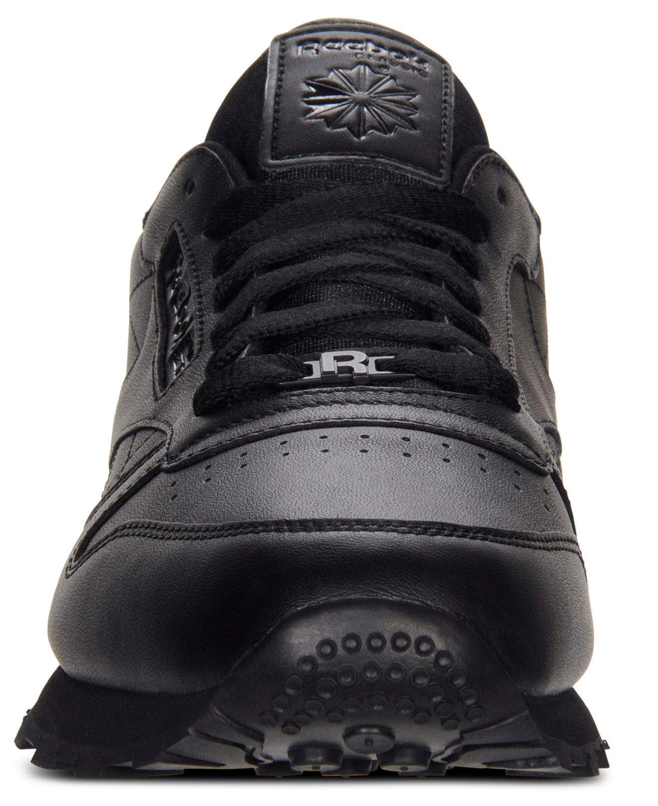 mens reebok classic high top black