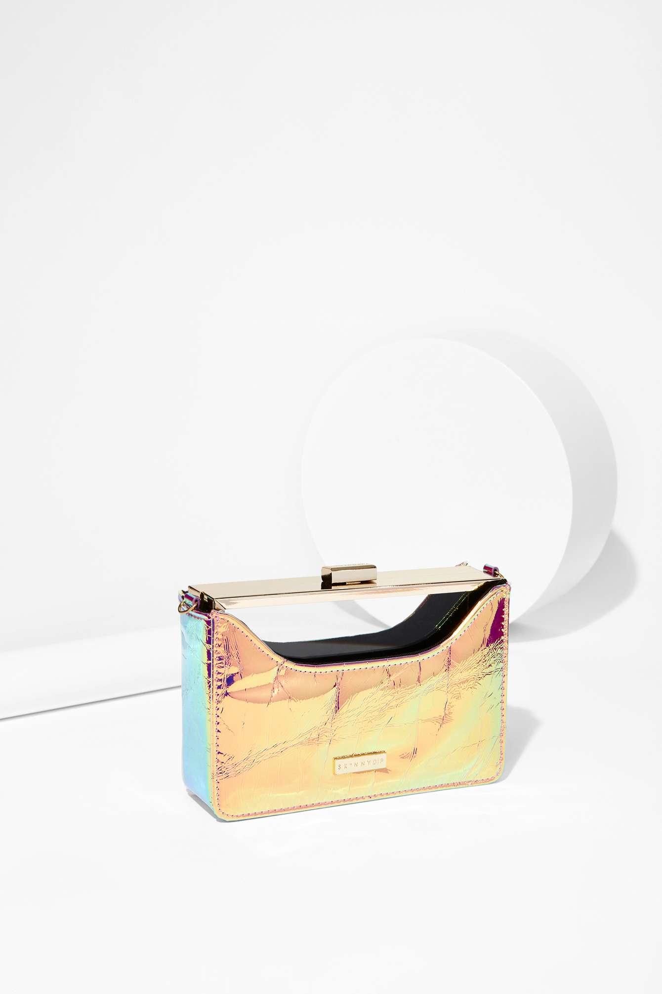 fbd7b86adf51 Lyst - Nasty Gal Skinnydip London In The Clear Hologram Crossbody Bag