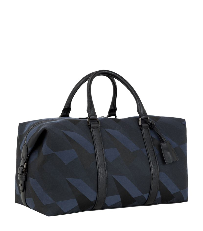 93ead4f043b6 where can i buy mulberry camo canvas clipper bag in blue for men lyst 52cb1  2bdb1