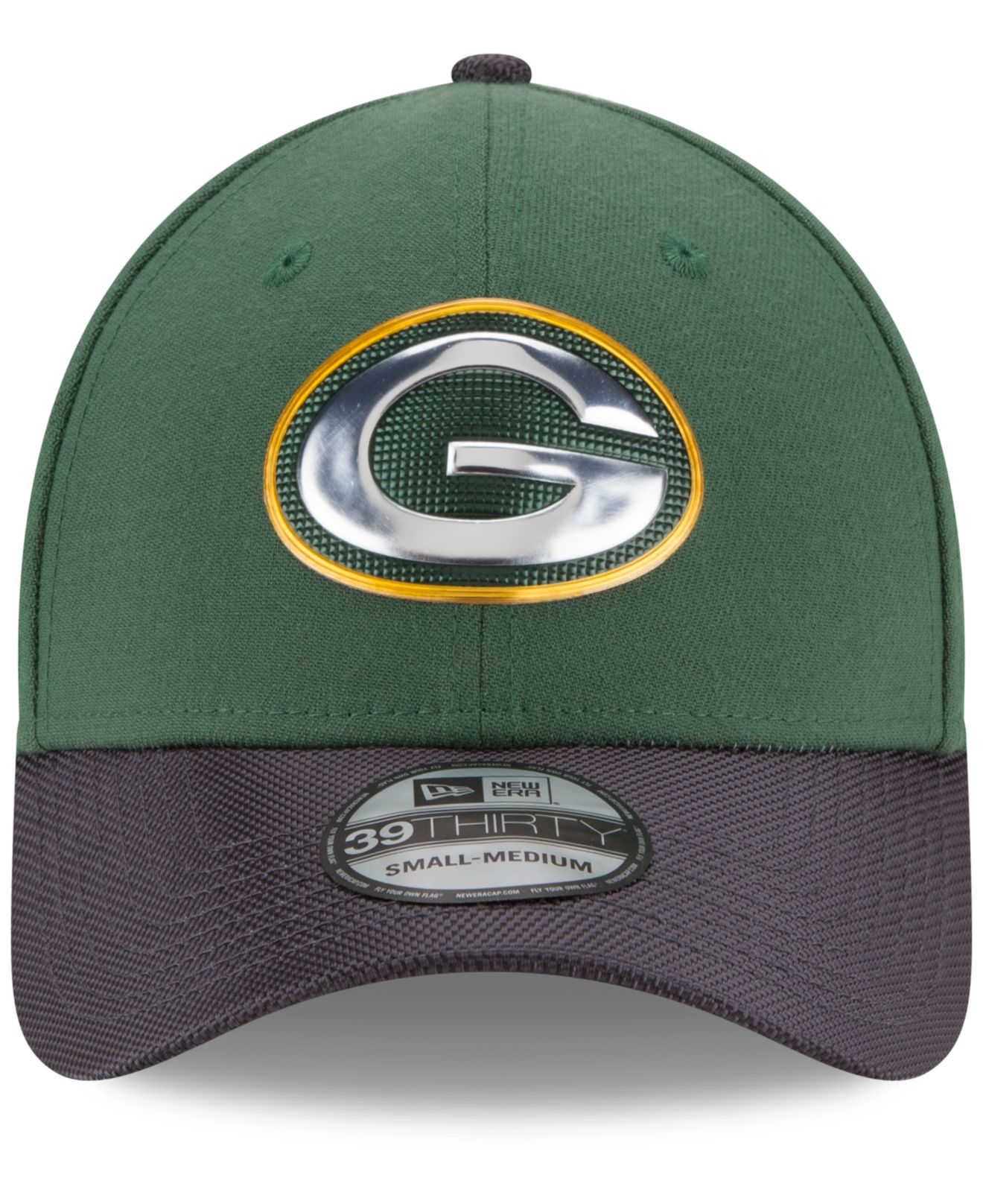 41604962812 Lyst - KTZ Green Bay Packers Gold Collection On-field 39thirty Cap ...