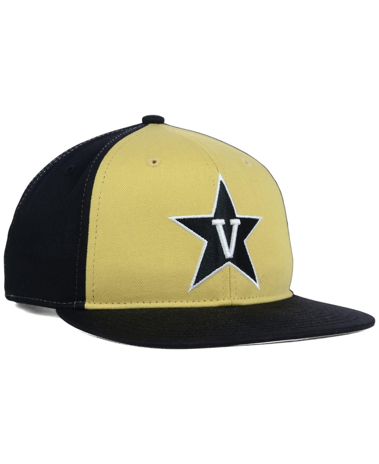 new concept 8a5a9 d4ba3 ... authentic lyst 47 brand kids vanderbilt commodores snapback cap in  yellow 1ec1b 6aa32
