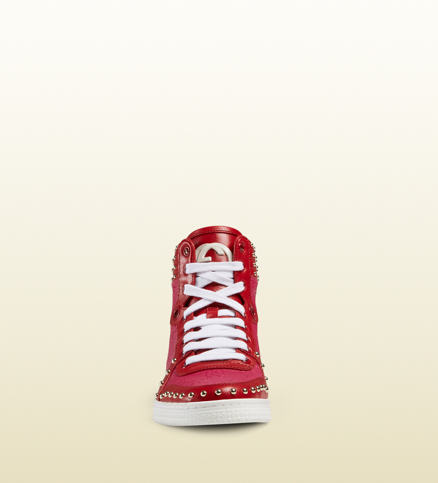 7df5d5de6 Gucci Coda High-top Sneaker in Pink - Lyst