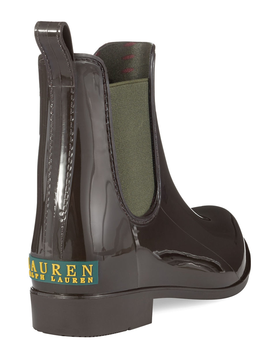 Lauren by ralph lauren Tally Rain Boots in Brown | Lyst