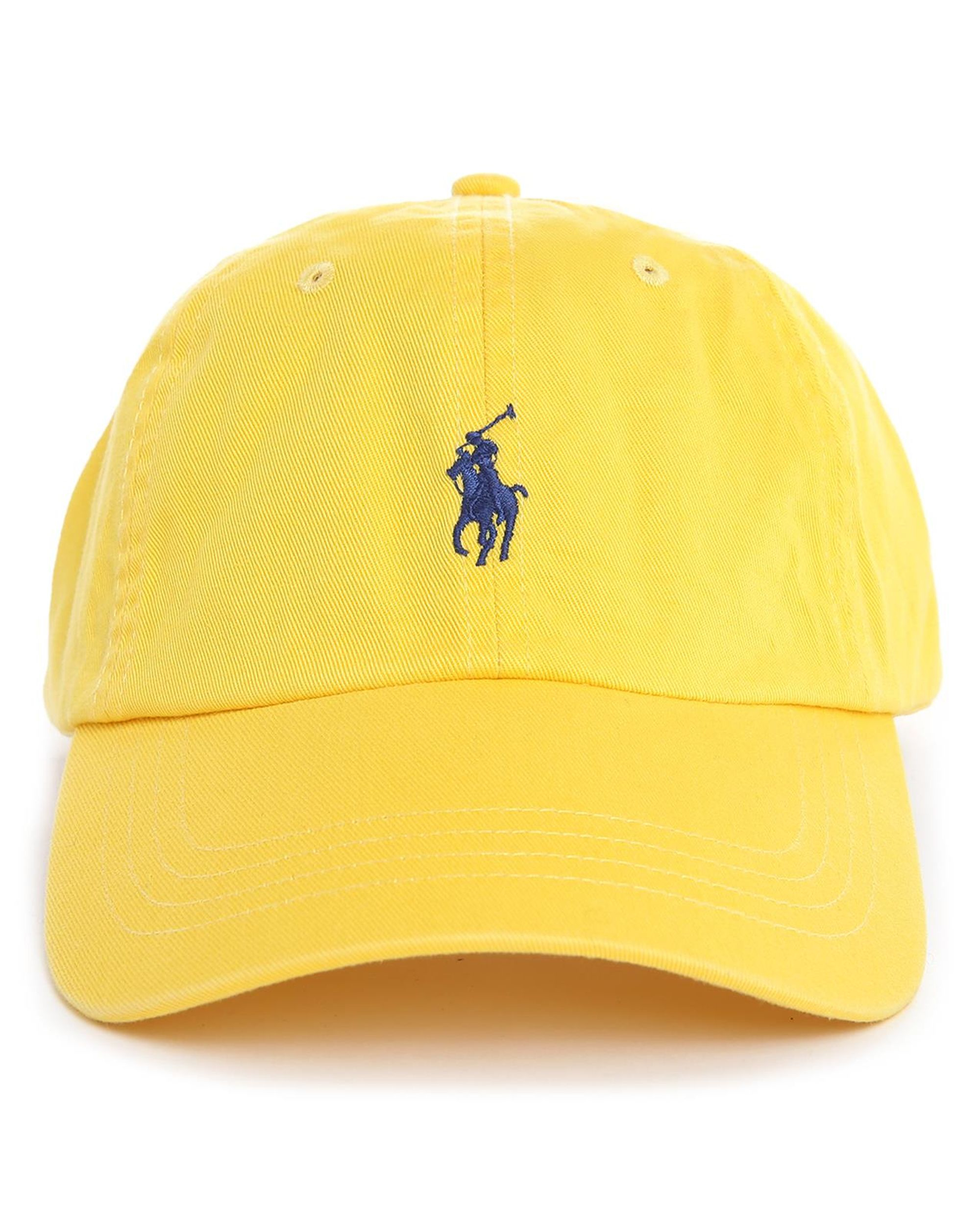 polo ralph lauren yellow classic cap in yellow for men lyst. Black Bedroom Furniture Sets. Home Design Ideas