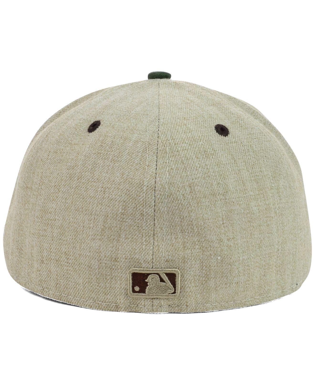 1cc6b6d0085 cheap lyst ktz new york yankees heather mashup 59fifty cap in natural faad8  7d50b