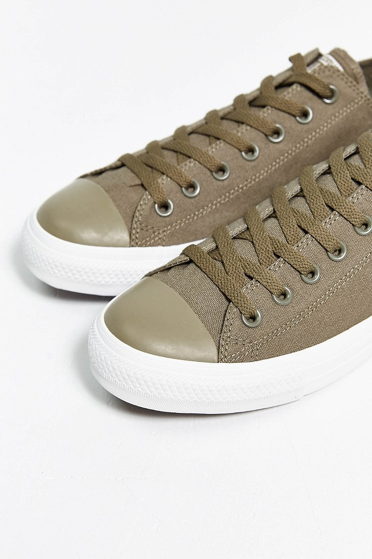 ... france lyst converse chuck taylor all star mono low top sneaker in green  ee87d 2e267 86a5723d4