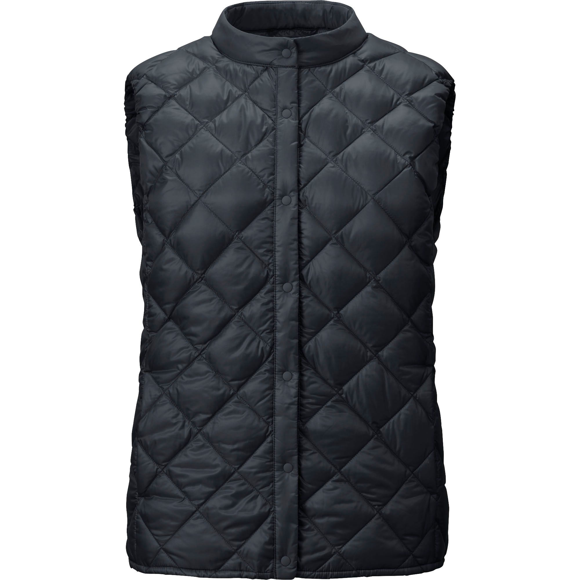 Uniqlo Women Ultra Light Down Compact Quilted Vest In