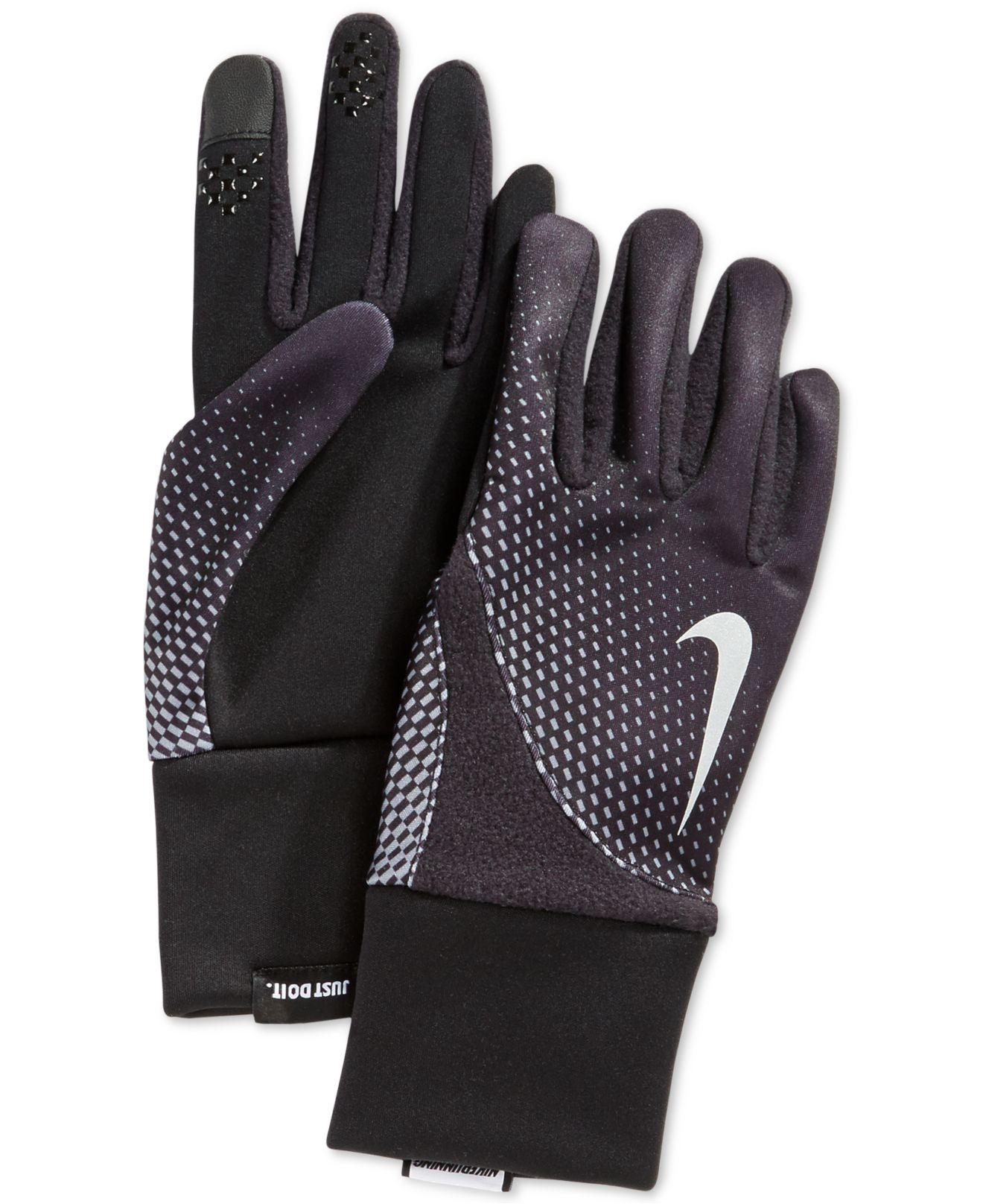 8c2f8c5b9f5f Lyst - Nike Men s Element Thermal 2.0 Run Gloves in Black for Men