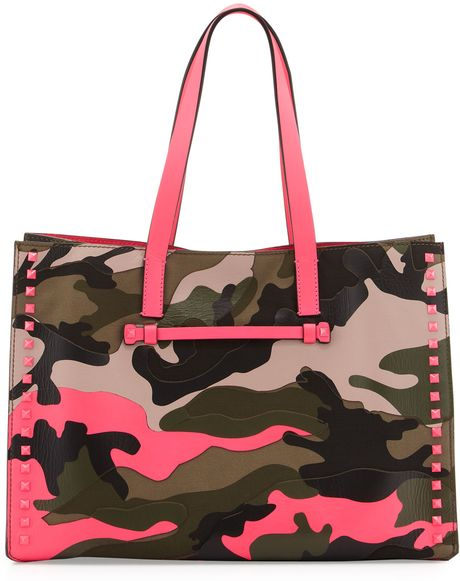 Medium Neon Bag Soft Square Tote Bag Neon