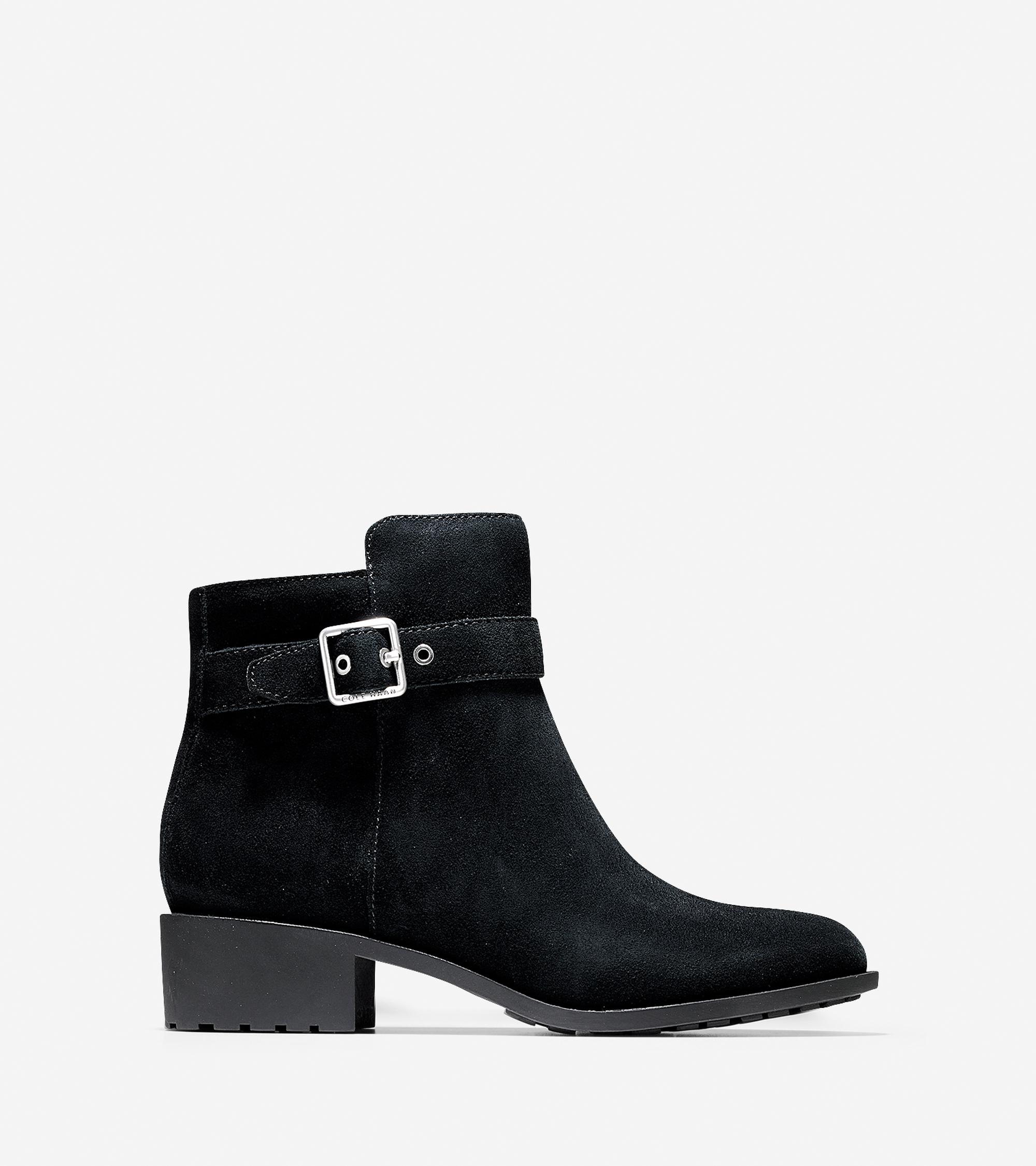 cole haan indiana waterproof boot in black lyst