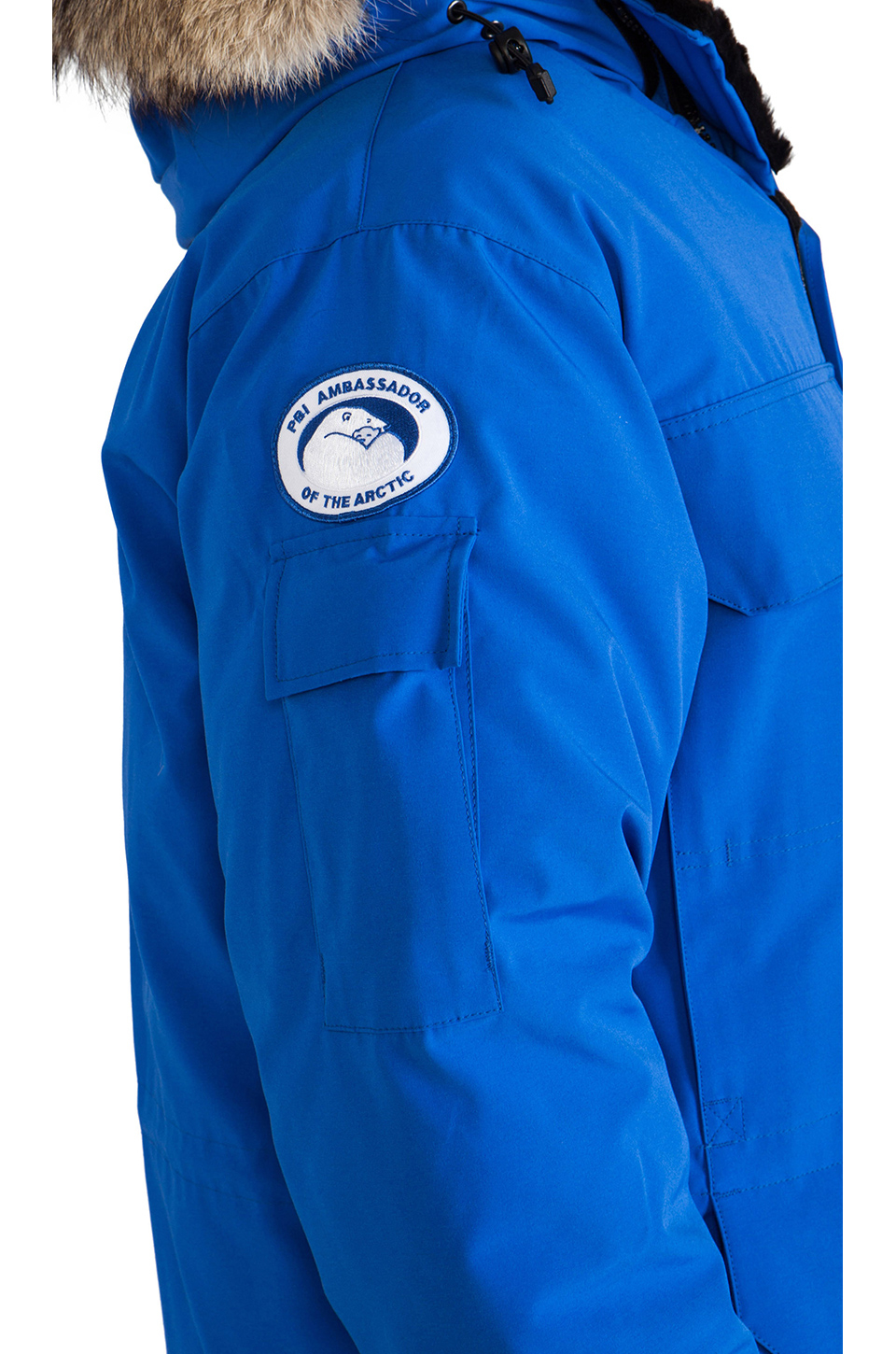 Canada Goose womens outlet discounts - Canada goose Expedition Down Parka in Blue for Men (Royal Pbi Blue ...