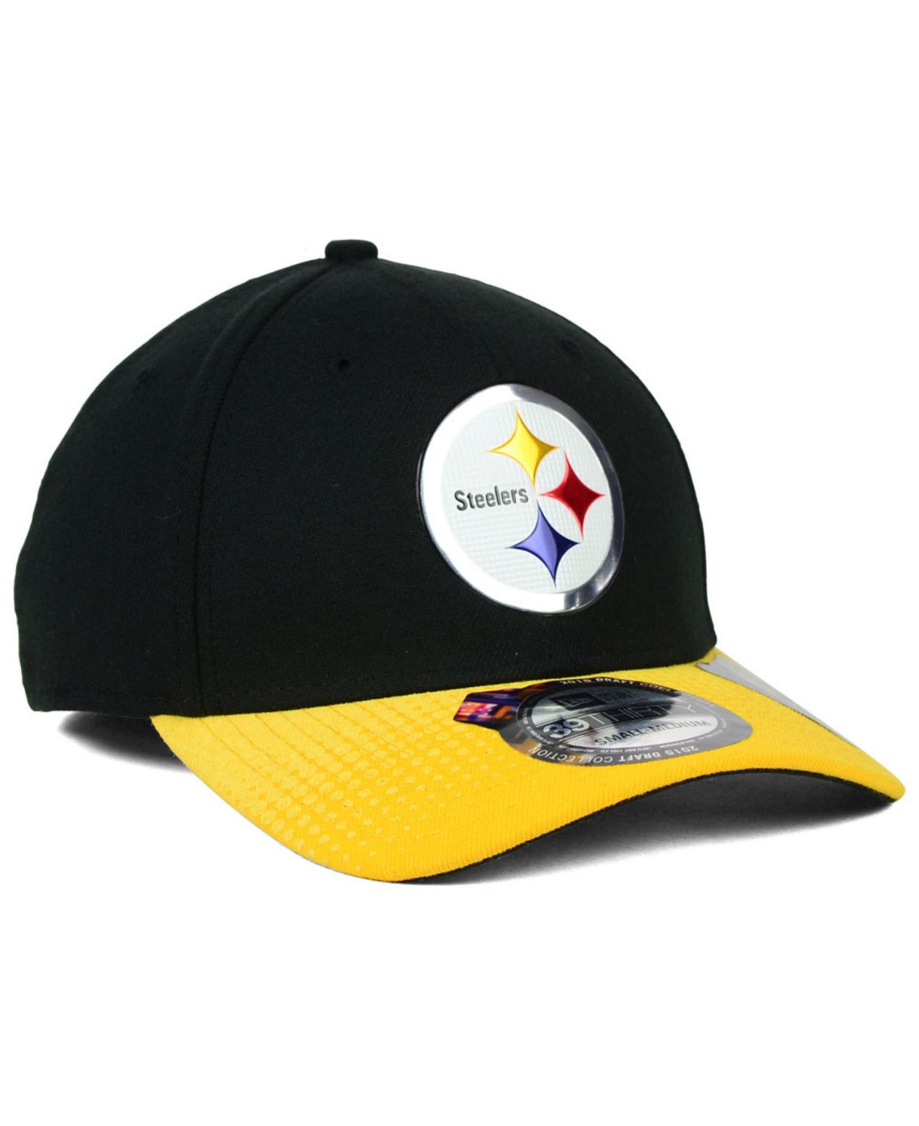 Lyst - Ktz Pittsburgh Steelers 2015 Nfl Draft 39Thirty Cap in Yellow ... d8f69295e