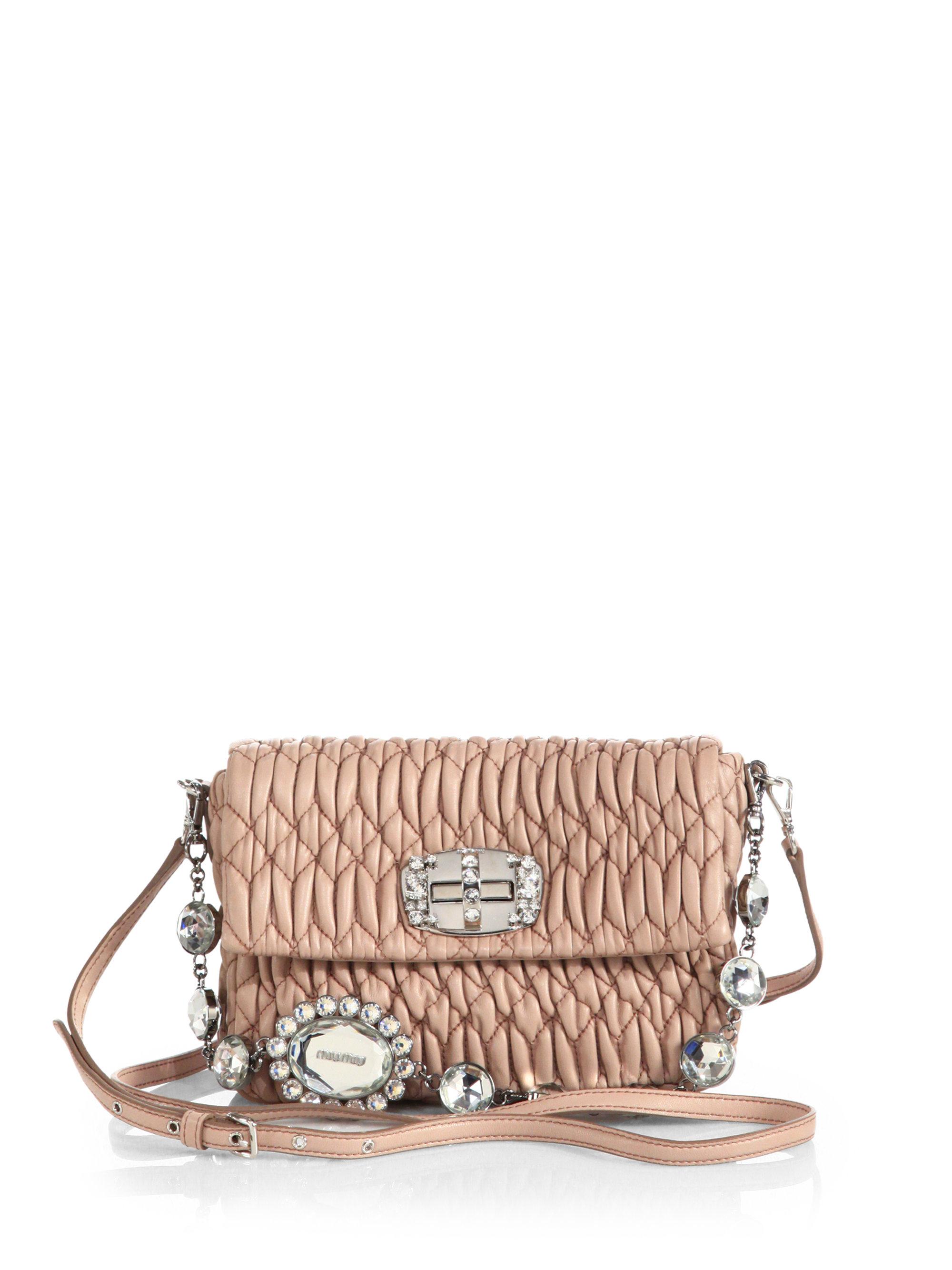 Miu Miu Nappa Leather Bag