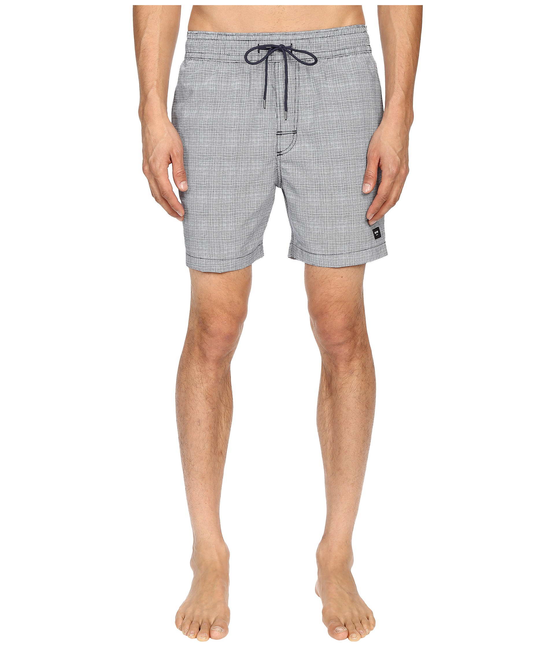 30e0c5b9e202a Lyst - Jack Spade Underwater Graph Grannis Swim Trunks in Blue for Men