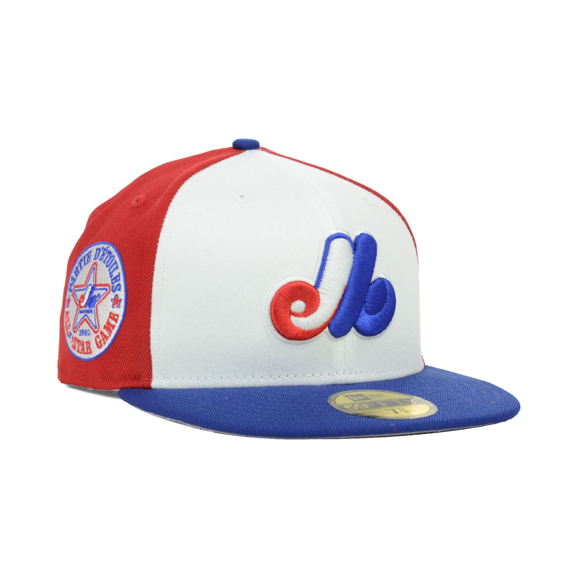 wholesale dealer 2ba9d d688f KTZ Montreal Expos All Star Patch Redux 59fifty Cap in Blue for Men ...