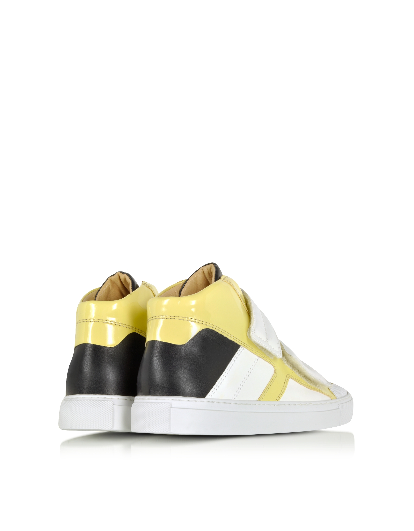 Lyst mm6 by maison martin margiela multicolor high top for Mm6 maison margiela