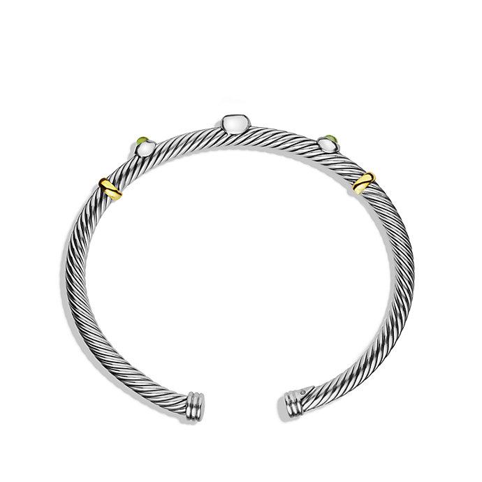 Renaissance Cable cuff bracelet - Metallic David Yurman KsuOi4ptYG
