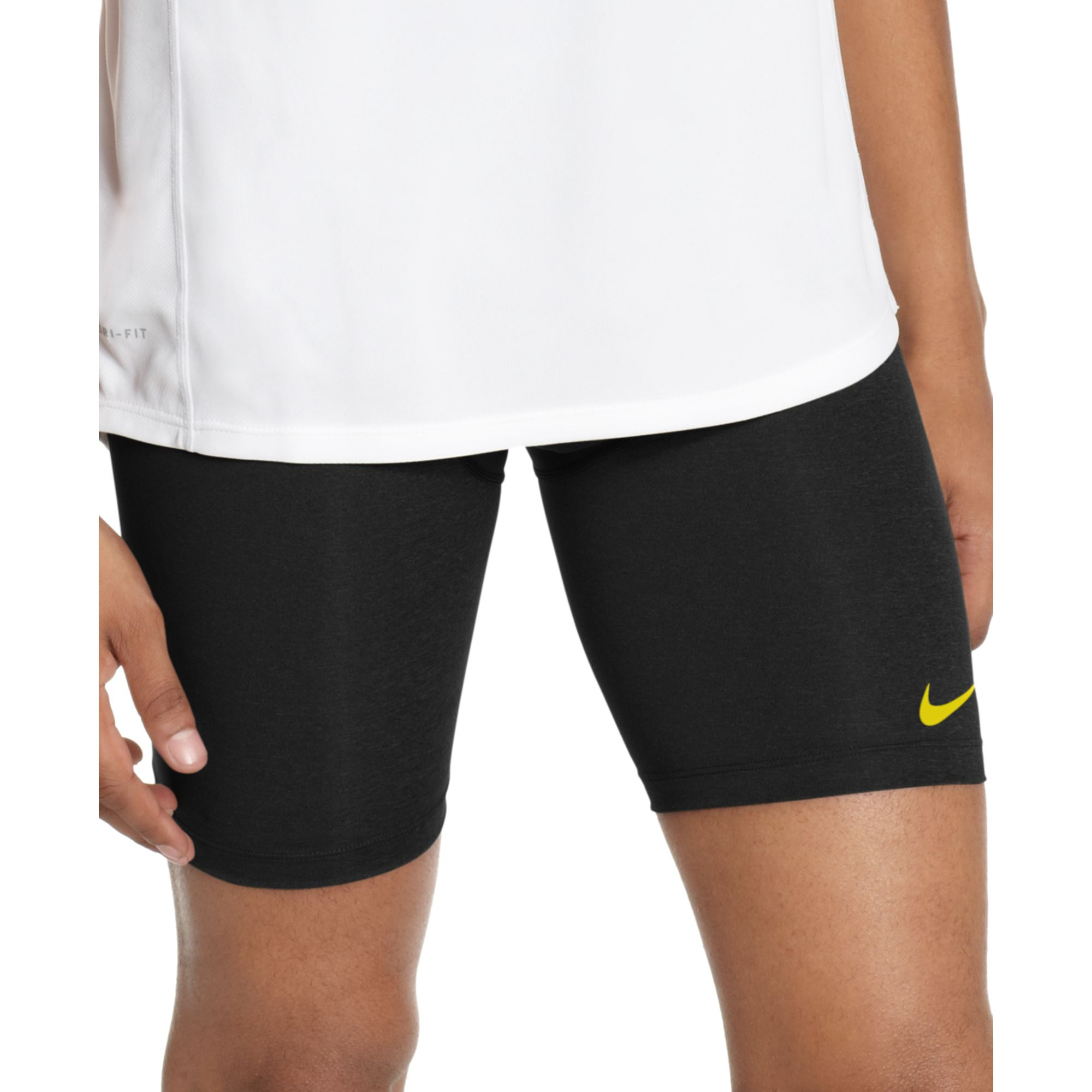 "Nike Pro Combat Compression 6"" Running Shorts in Gray for ..."