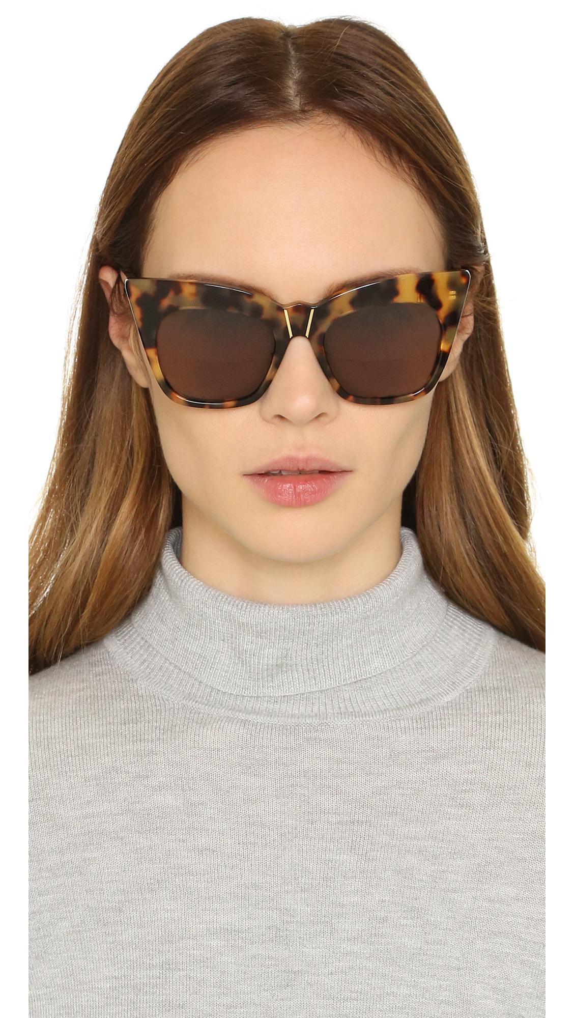 Kohl & Kaftans sunglasses - Brown Pared Eyewear NTYivO