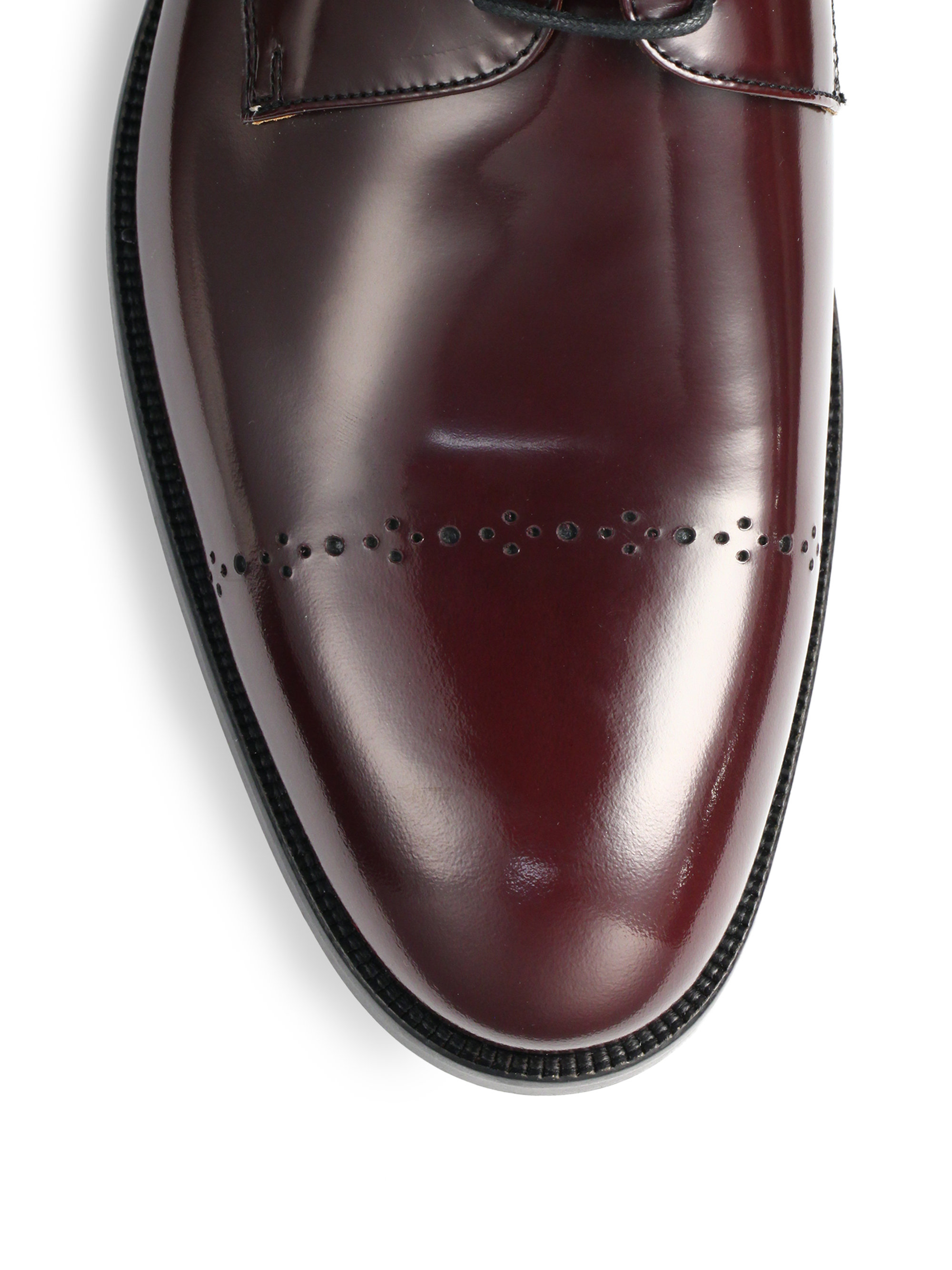 Saks Fifth Avenue COLLECTION Cap Toe Dress Shoes
