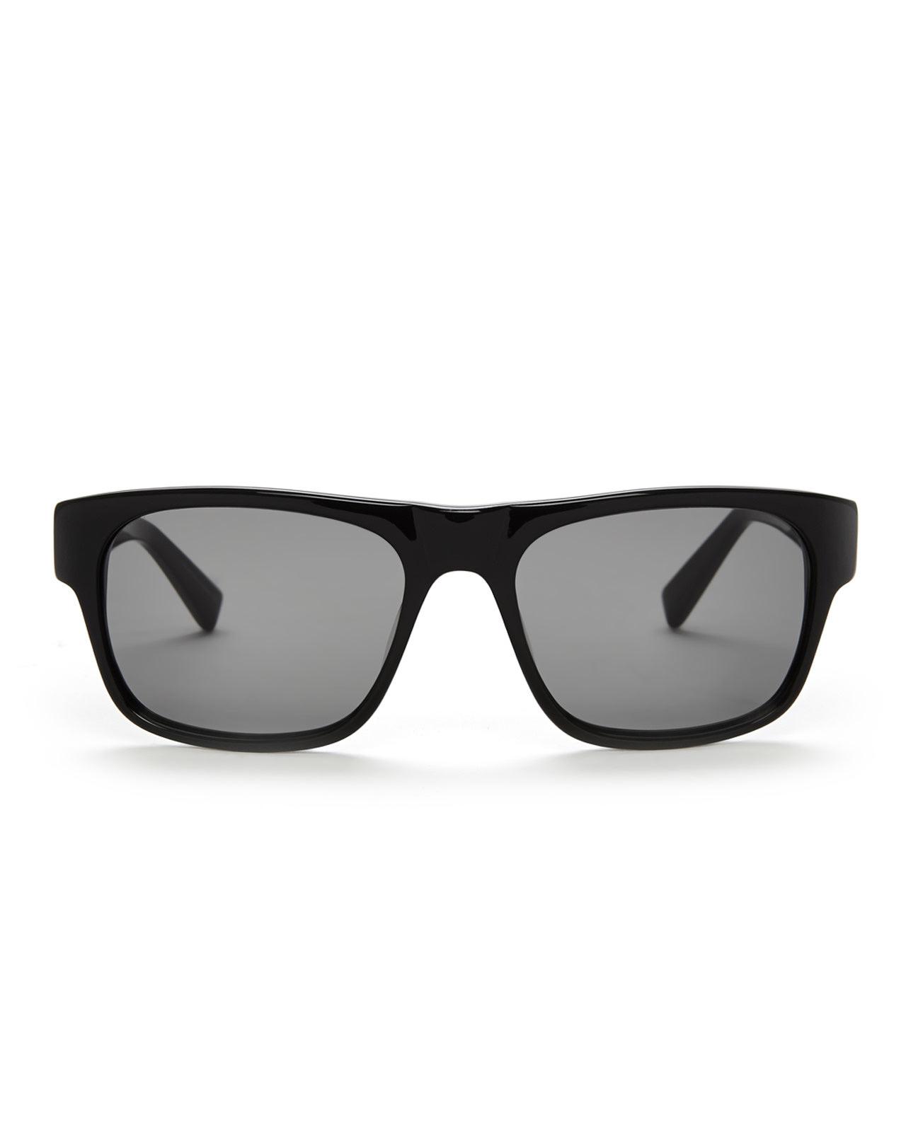 6adfbf0359 Lyst - David Yurman Black Square Wayfarer Sunglasses in Black