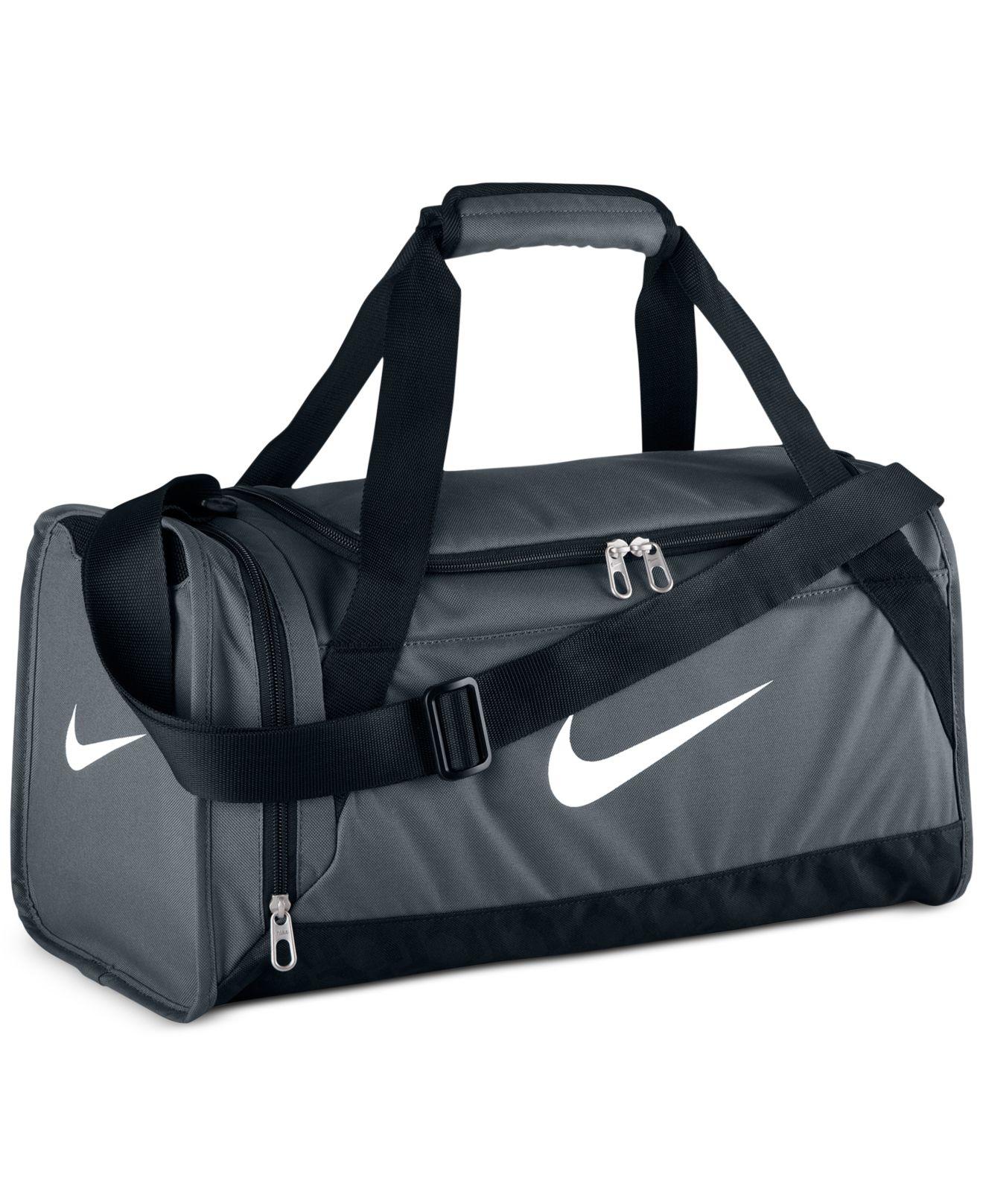 Lyst - Nike Brasilia 6 Extra-Small Duffle Bag in Gray for Men b2c4860219