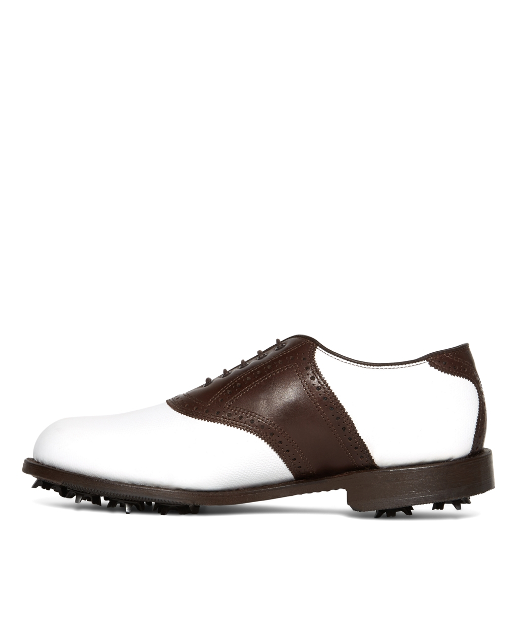 76dbb1a4b5774 Lyst - Brooks Brothers Redan Golf Shoes in Brown for Men