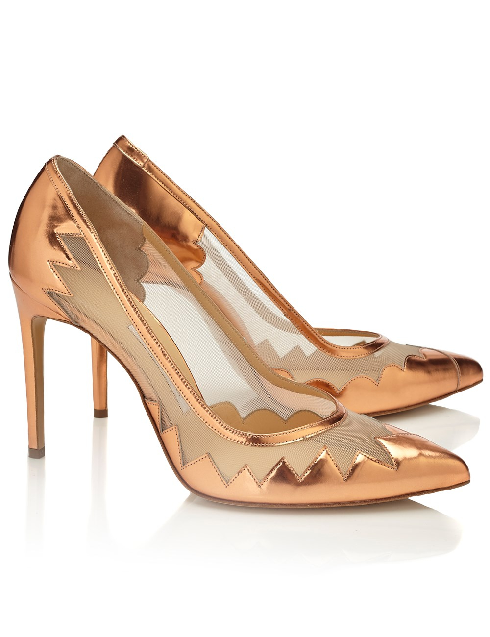 Pink Rose Heels