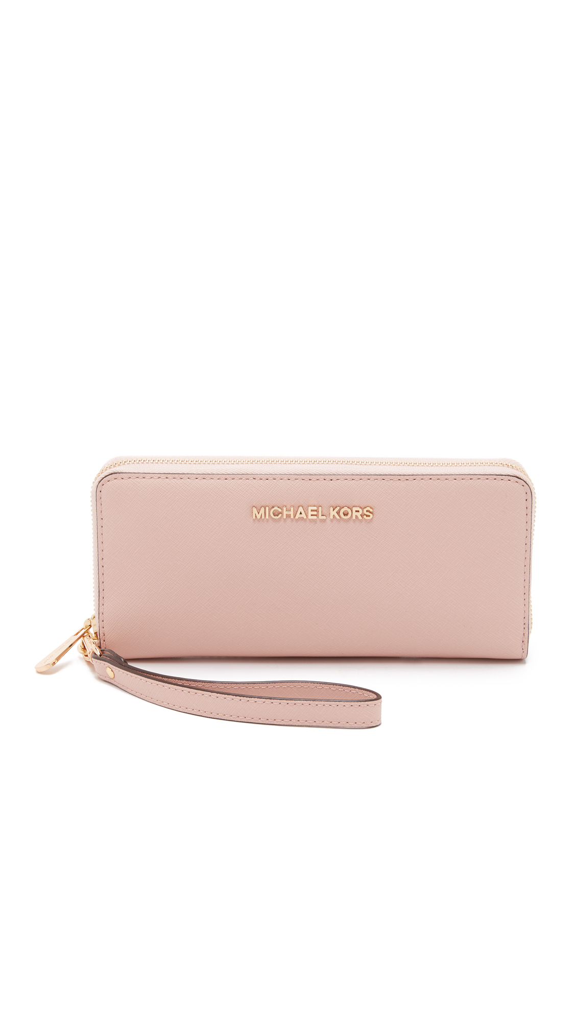 a0a74be5560a MICHAEL Michael Kors Jet Set Travel Continental Wallet - Ballet in ...