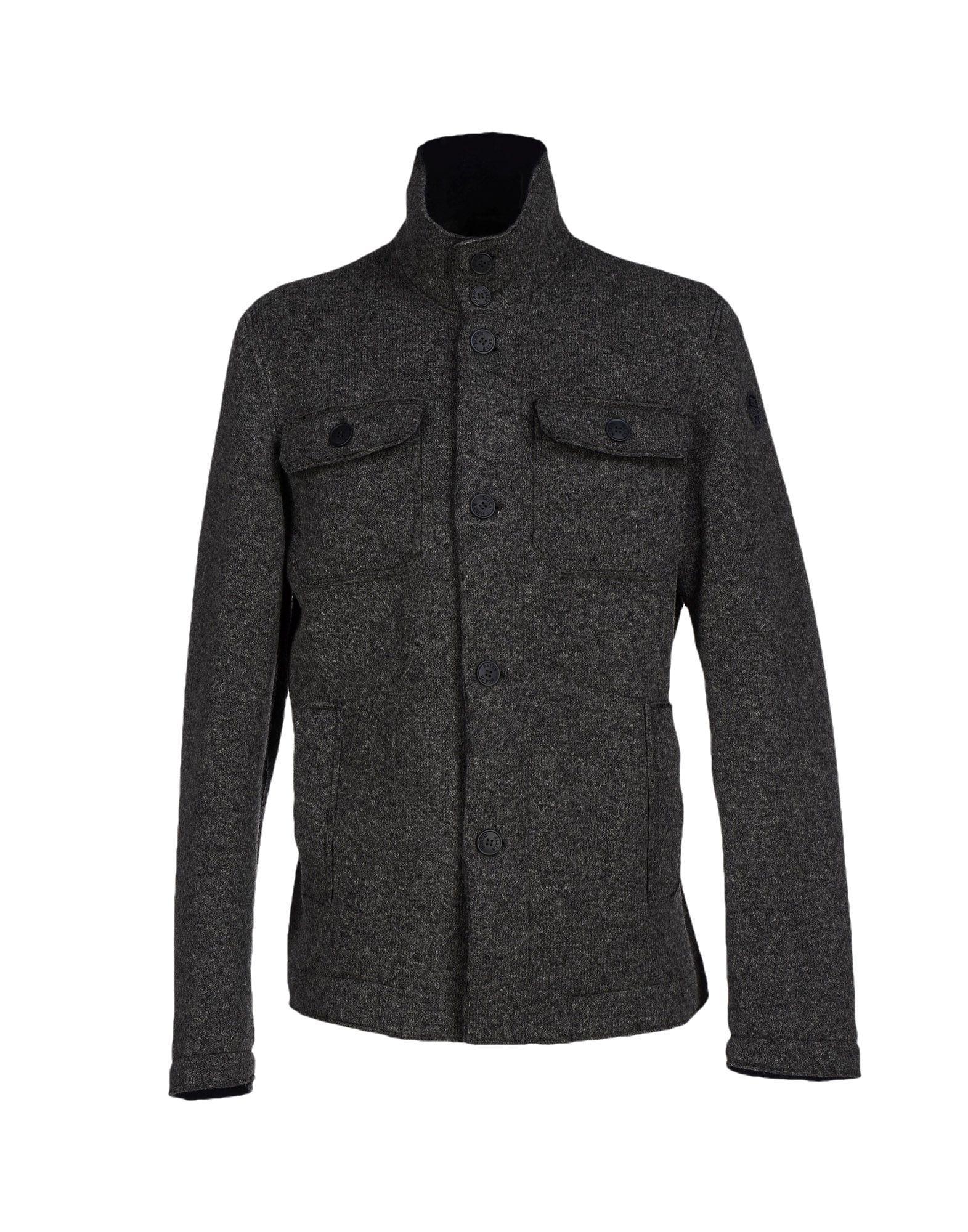 north sails jacket in gray for men grey lyst. Black Bedroom Furniture Sets. Home Design Ideas