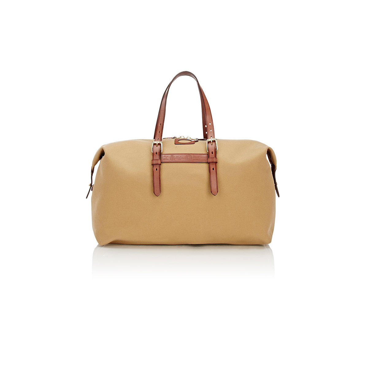 1ac2a67d1feb Lyst - Felisi Men s Leather-trimmed Duffel in Natural