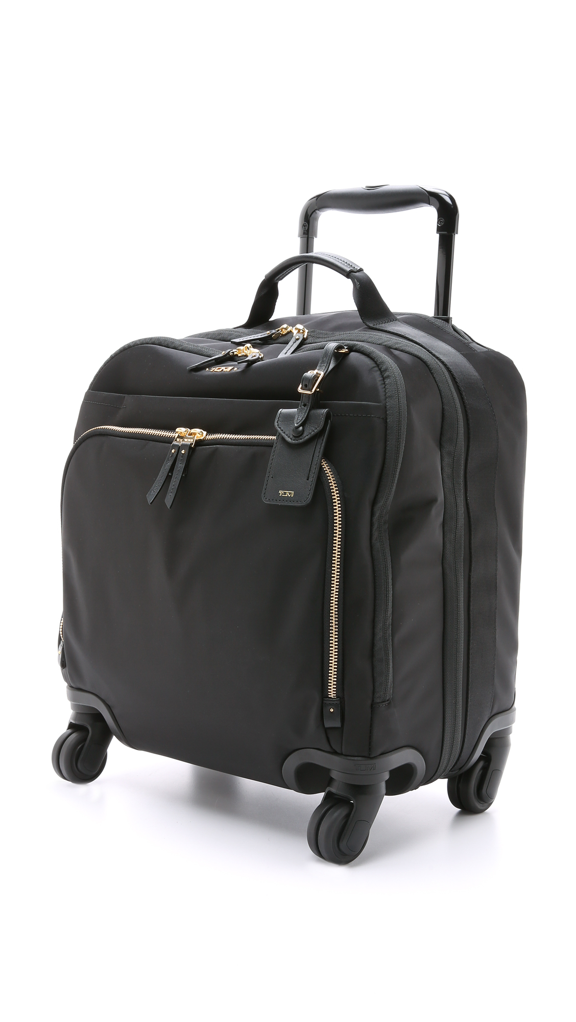 Tumi Oslo 4 Wheel Compact Carry On Luggage - Black in ...