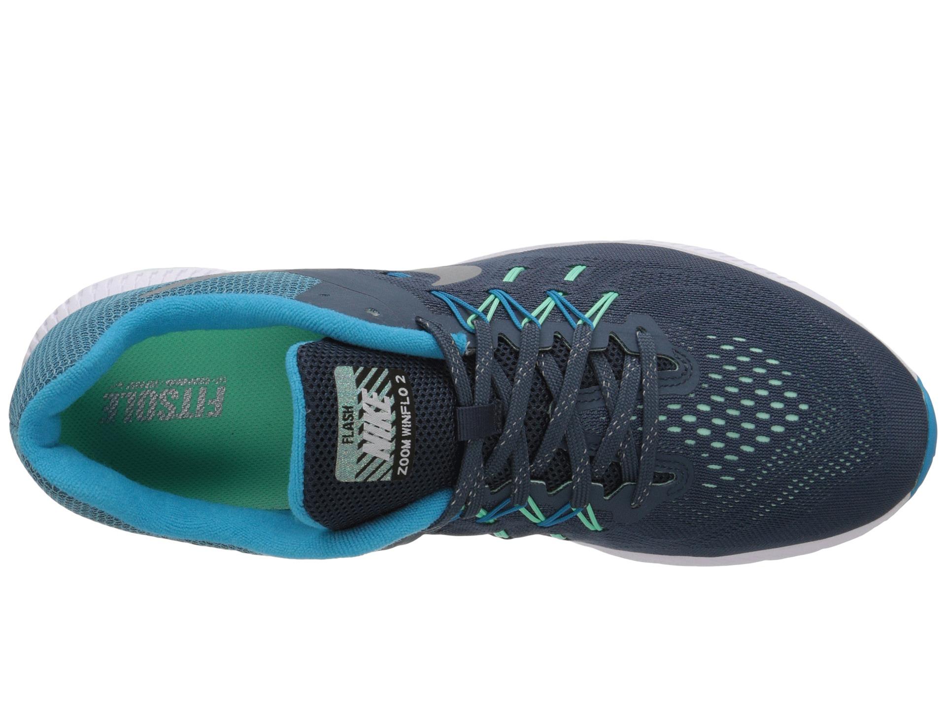 Lyst - Nike Zoom Winflo 2 Flash in Blue for Men da11d9419f79
