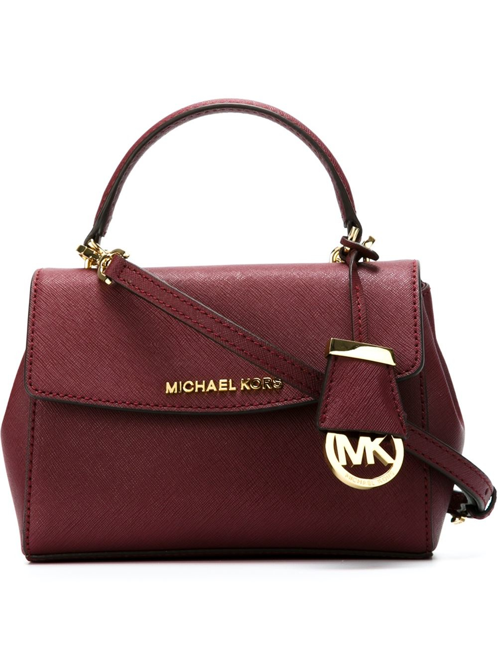 Lyst Michael Michael Kors Ava Extra Small Cross Body Bag