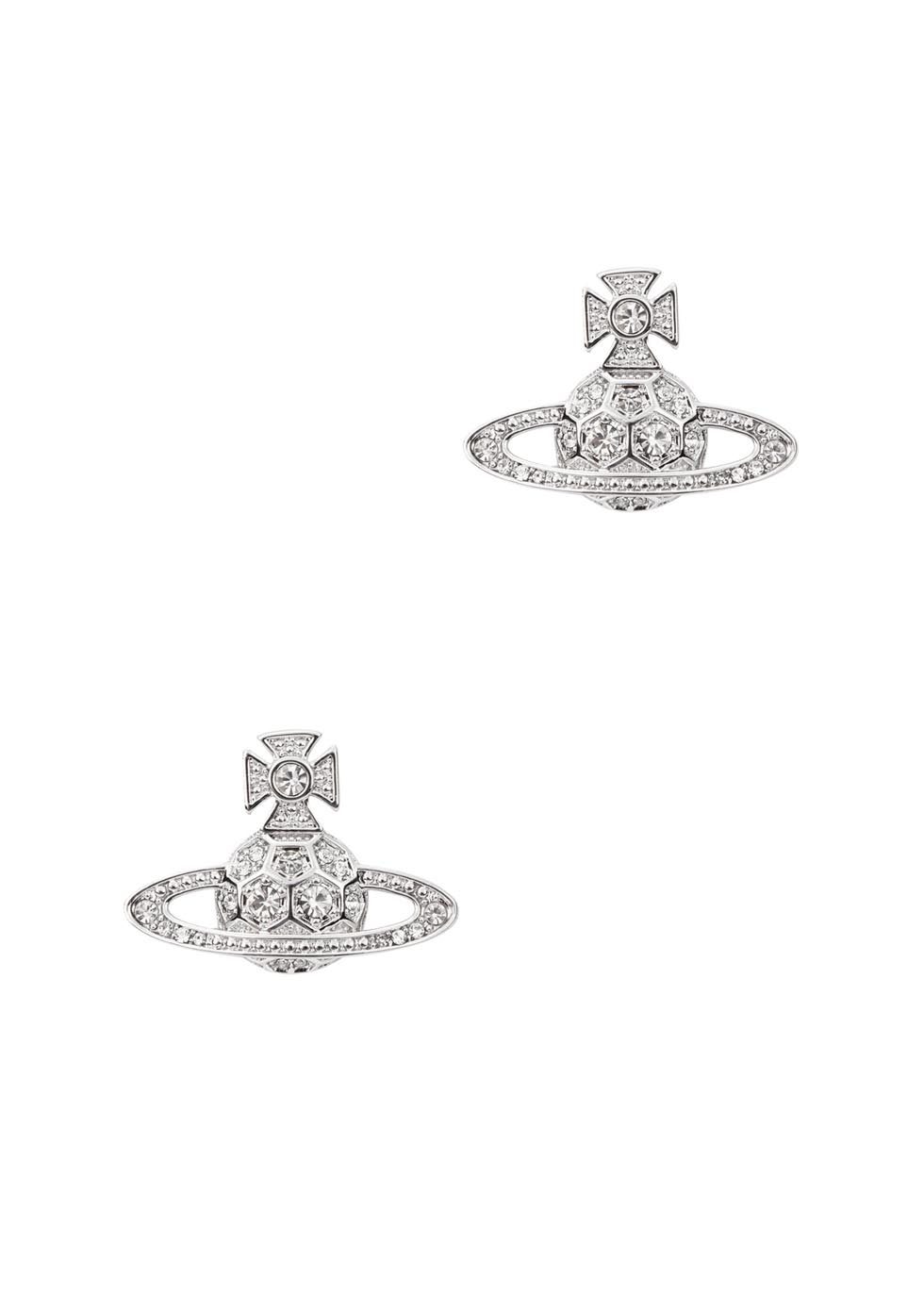 0736a088a Vivienne Westwood Thalia Bas Relief Orb Earrings in Metallic - Lyst