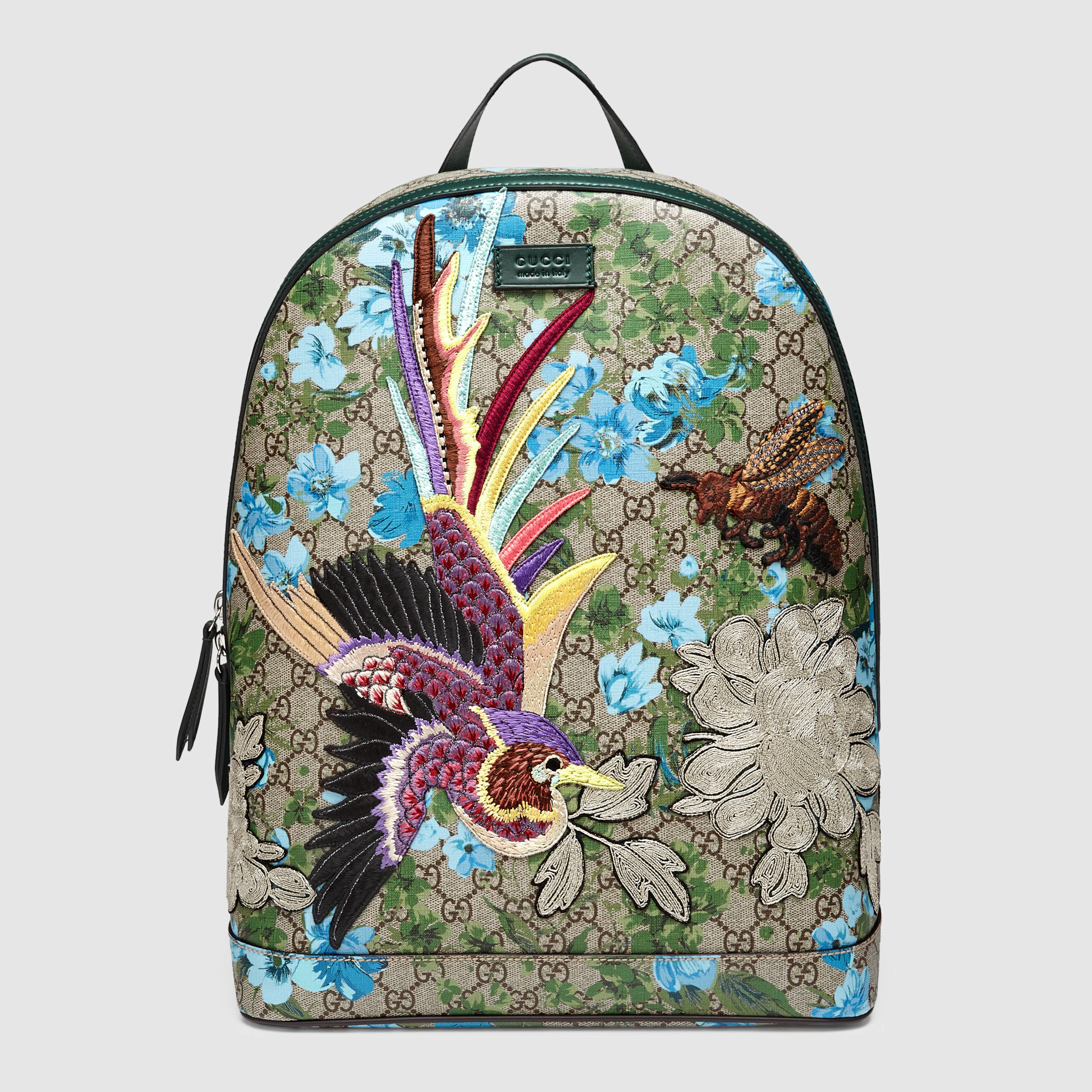 Gucci Xl Gg Floral Print Backpack For Men | Lyst