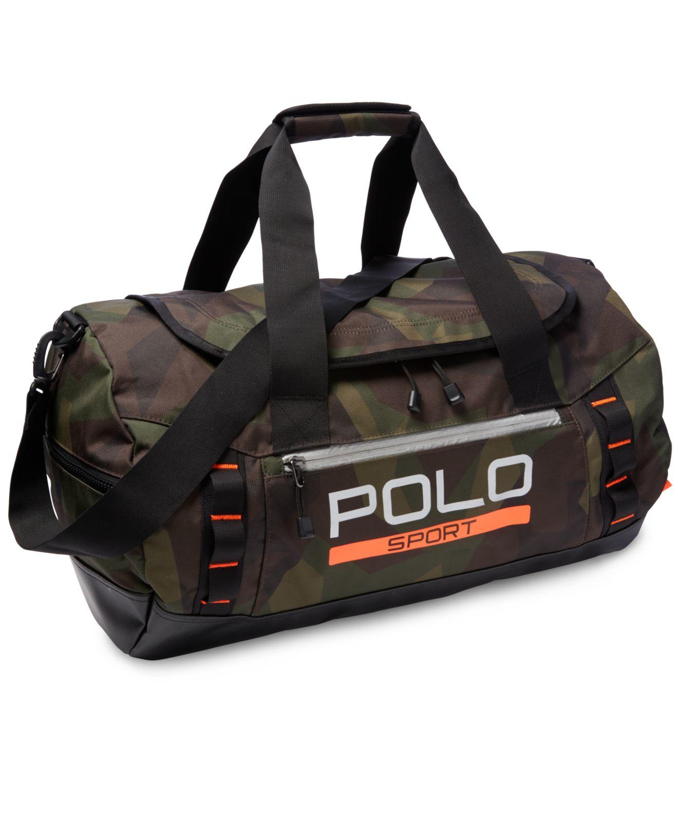 ... discount lyst polo ralph lauren polo sport duffel bag in green for men  b0666 c87c7 b8d90e46dd643