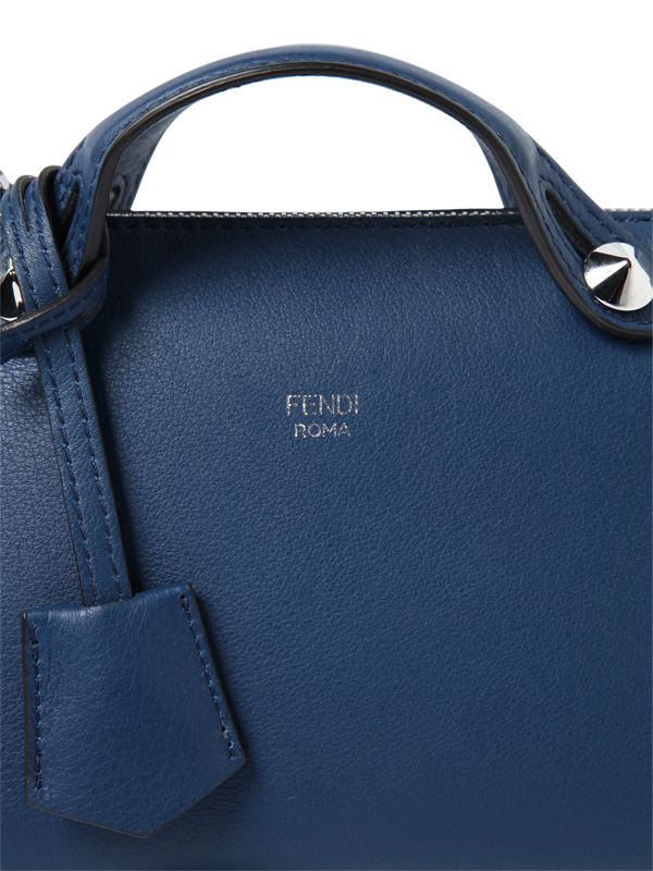 79324fcc67fb ... huge discount e14d7 97643 Lyst - Fendi Mini by The Way Crossbody Bag in  Blue ...