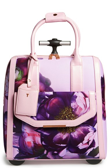 Ted Baker Sunlit Floral Travel Bag In Pink Lyst