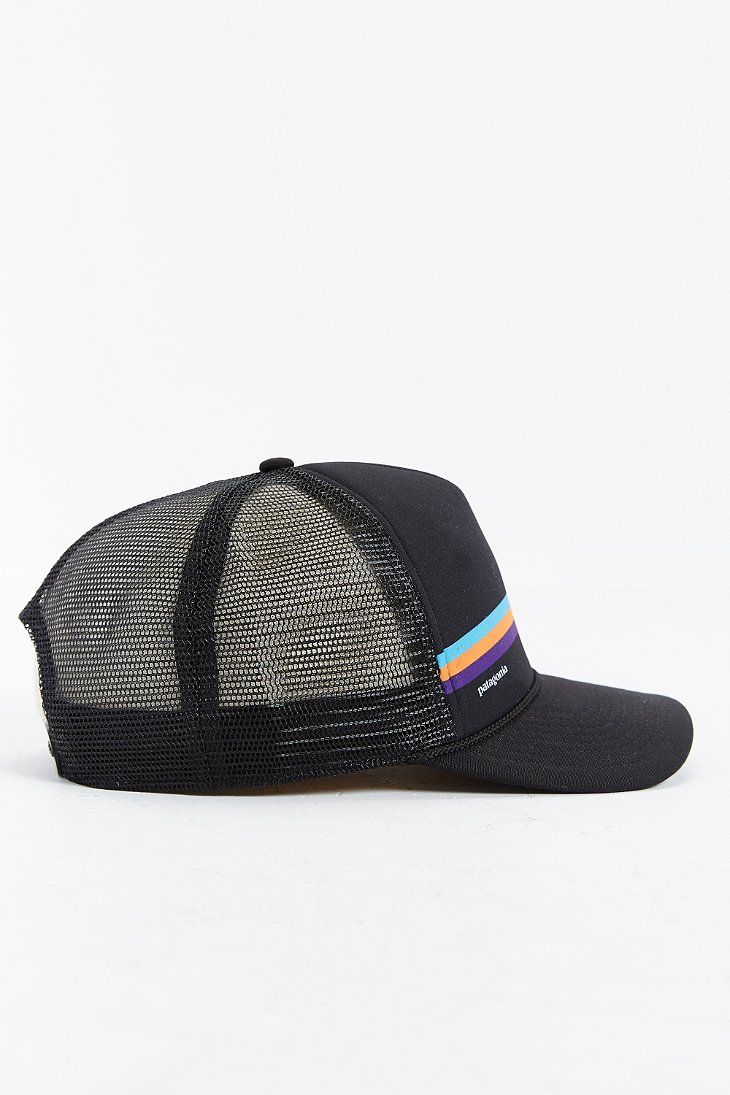 fc3c0323f48 Lyst - Patagonia Fitz Roy Lopro Trucker Hat in Black for Men