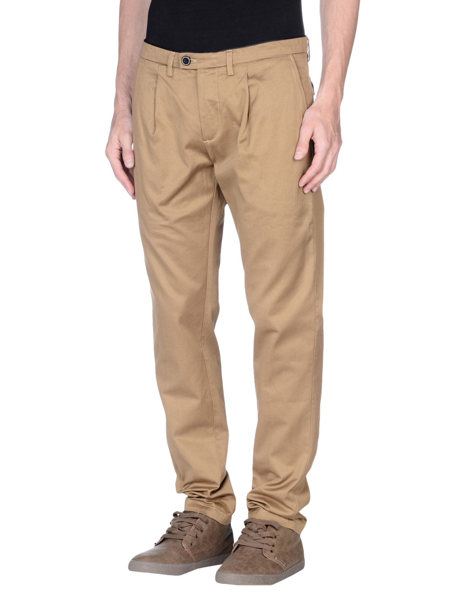 Model Save Khaki Daily Khaki Pants In Brown For Men Caramel  Lyst